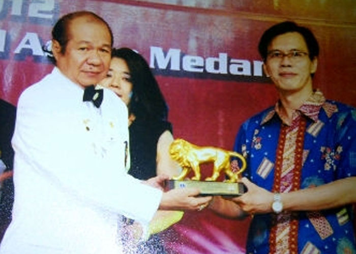 Appreciation from District Governor Lions Clubs International, District 307 A-2, 2011-2012