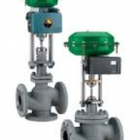 RTK Control valves, pneumatic actuated